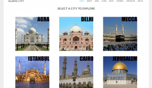 Islamic Cities Website