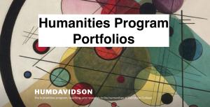 Humanities Program Portfolios