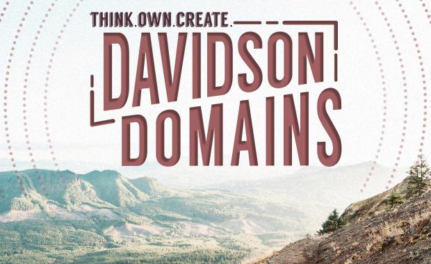 Think. Own. Create. Davidson Domains