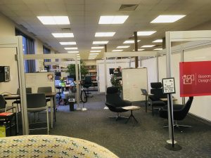 Research & Design Studio Office in Library