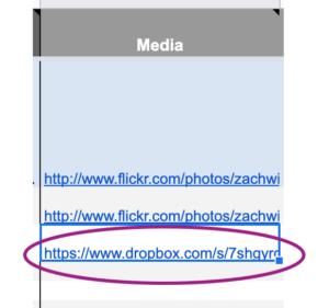 add link to google sheet screenshot